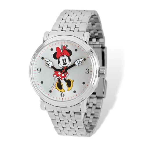 Disney Minnie Red Dress Watch Adult Size XWA5148