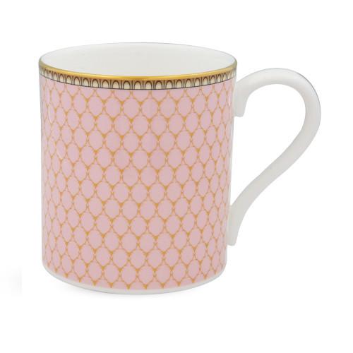 Halcyon Days Antler Trellis Pink Mug