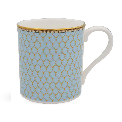 Halcyon Days Antler Trellis Blue Mug