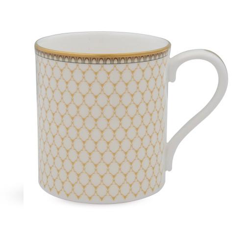 Halcyon Days Antler Trellis Ivory Mug