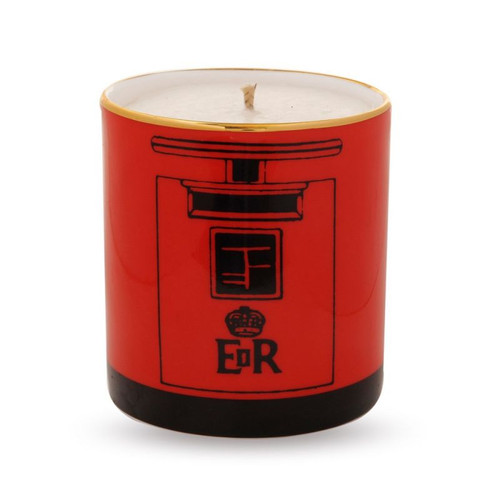 Halcyon Days Post Box Filled Candle BCTPB06CAG
