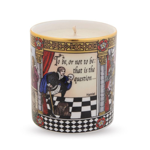 Halcyon Days Shakespeare Filled Candle BCSHA01CAG
