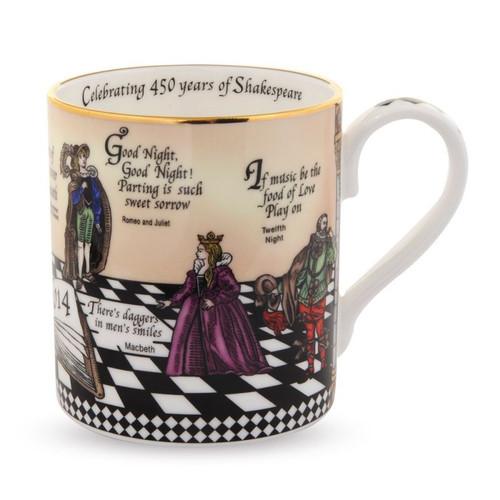 Halcyon Days Shakespeare Mug