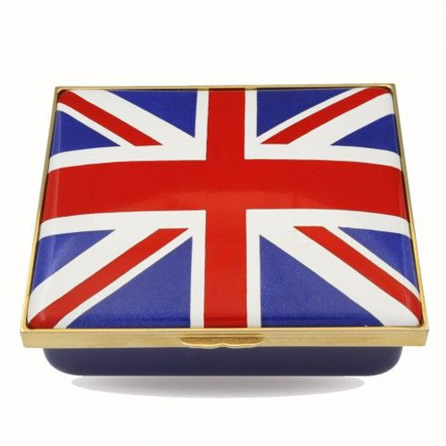 Halcyon Days The Union Flag Enamel Box