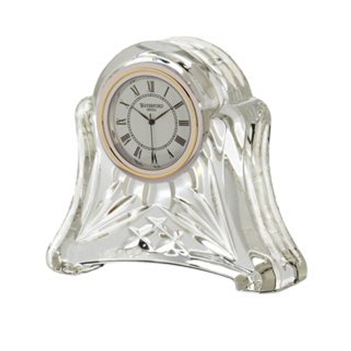 Waterford Abbey Clock 3 1/2 Inch Tall