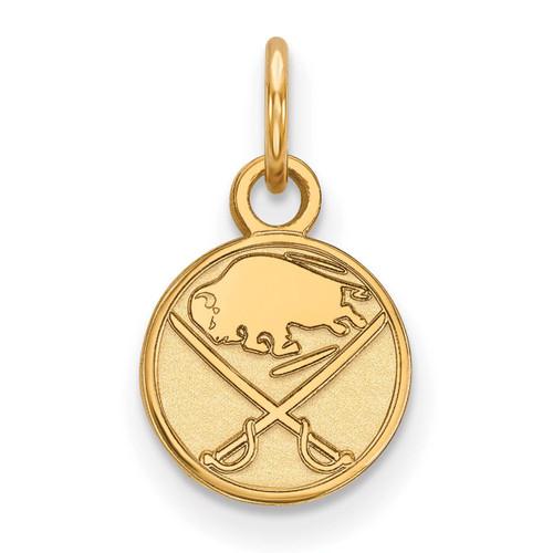 Buffalo Sabres x-Small Pendant 10k Yellow Gold 1Y001SAB