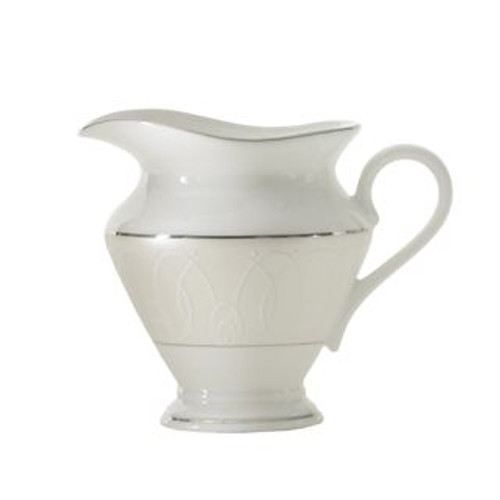 Waterford Ballet Icing Pearl Creamer 8 Oz