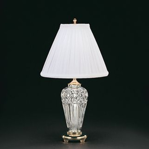Waterford Belline Accent Lamp 18 Inch Polished Brass