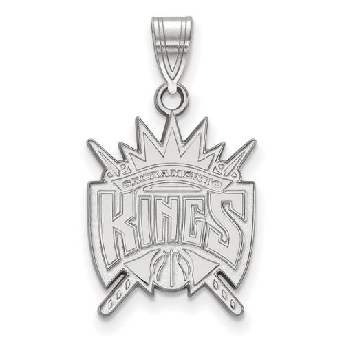 Sacramento Kings Lapel Pin 14k White Gold 4W009KNG NBA
