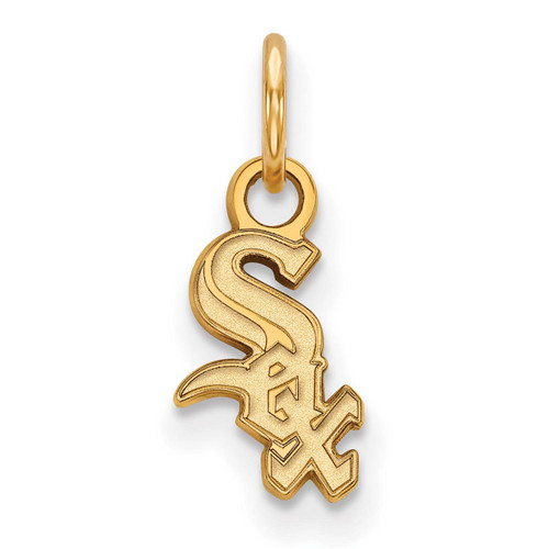 Chicago White Sox x-Small Pendant 14k Yellow Gold 4Y001WHI