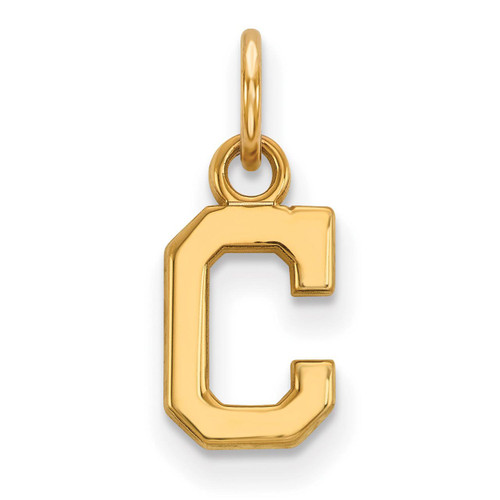 Cleveland Indians x-Small Pendant 14k Yellow Gold 4Y021IND