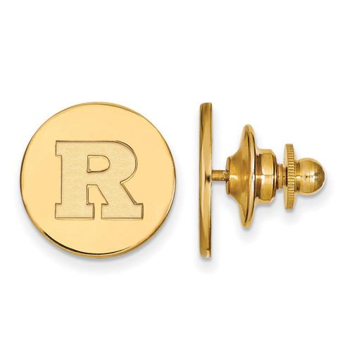 Rutgers Lapel Pin Gold-plated Silver GP006RUT
