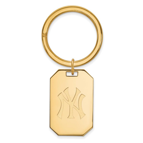 New York Yankees Key Chain Gold-plated Silver GP026YAN