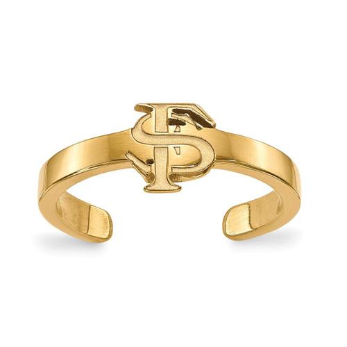 Florida State University Toe Ring Gold-plated Silver GP029FSU
