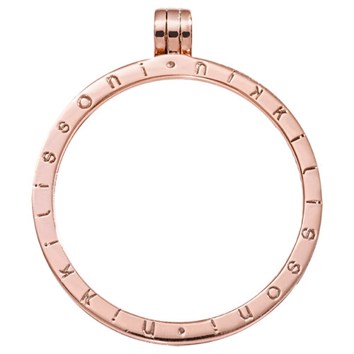 Nikki Lissoni Rose Gold-Plated 45mm Chain P03RGL