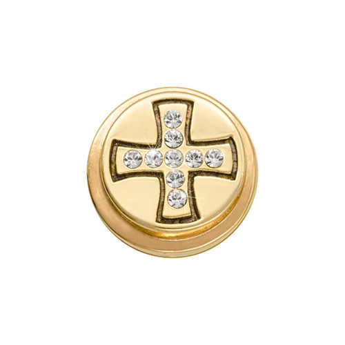 Nikki Lissoni Gold-Plated Celtic Cross Coin That Fits S Rings MPN: RC2010G EAN: 8718819234135