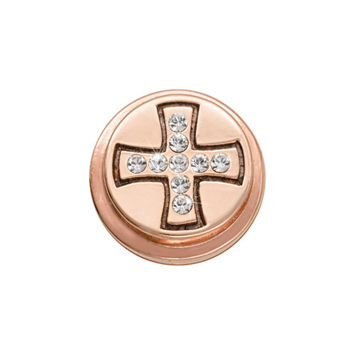 Nikki Lissoni Rose Gold-Plated Celtic Cross Coin That Fits S Rings MPN: RC2010RG EAN: 8718819233213