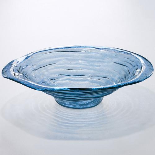 Annieglass Indigo Extra Large Bowl 16 Inch