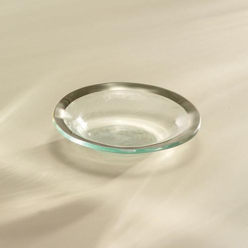 Annieglass Platinum Roman Antique Mini Bowl 6 Inch