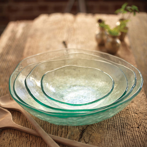 Annieglass Salt Extra Large Serving Bowl 13 Inch