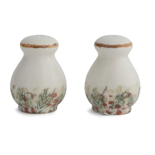 Arte Italica Natale Salt and Pepper Set NAT6828