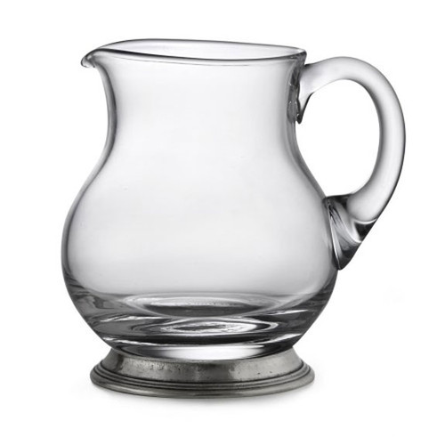Arte Italica Taverna Small Glass Pitcher P2943