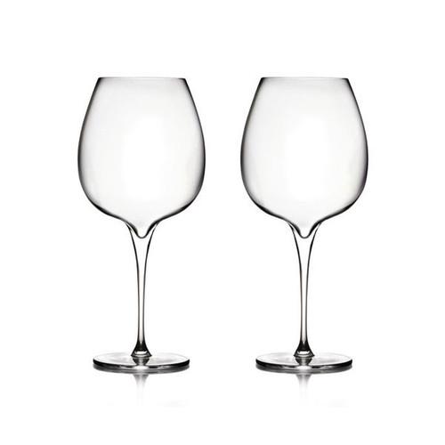 Nambe Vie Pinot Noir Wine Glasses Set of 2 MT0948