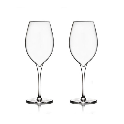 Nambe Vie Pinot Grigio Wine Glasses Set of 2 MT0949
