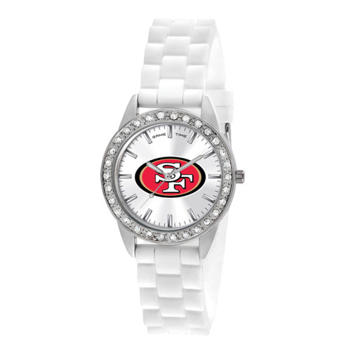 NFL San Francisco 49ers Frost Ladies Watch XWL1120