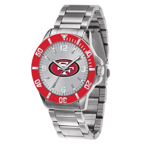 NFL San Francisco 49ers Sparo Key Watch XWM2455