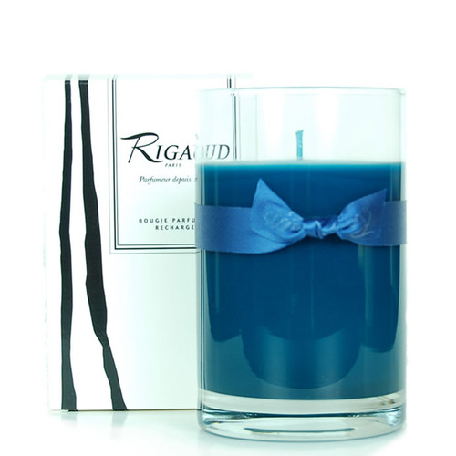Rigaud Refill Recharge Large Candle Chevrefeuille Royal Blue