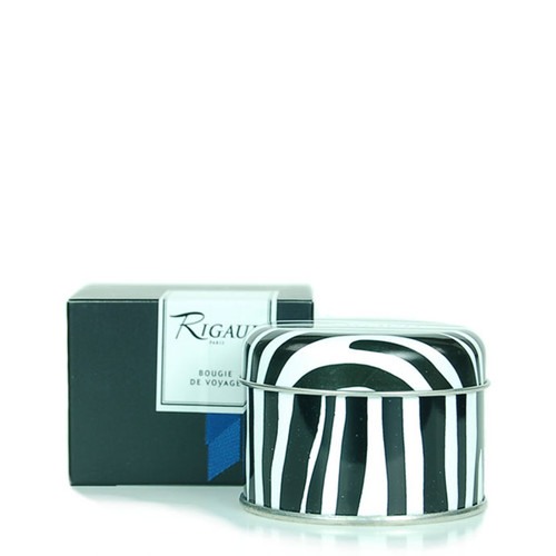 Rigaud Travel Candle Chevrefeuille Royal Blue