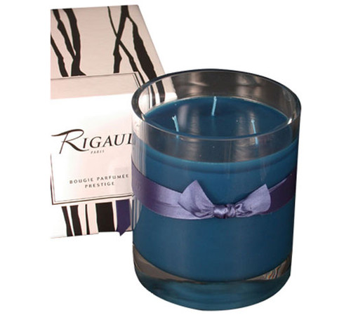 Rigaud Three Wick Prestige Candle Chevrefeuille Royal Blue