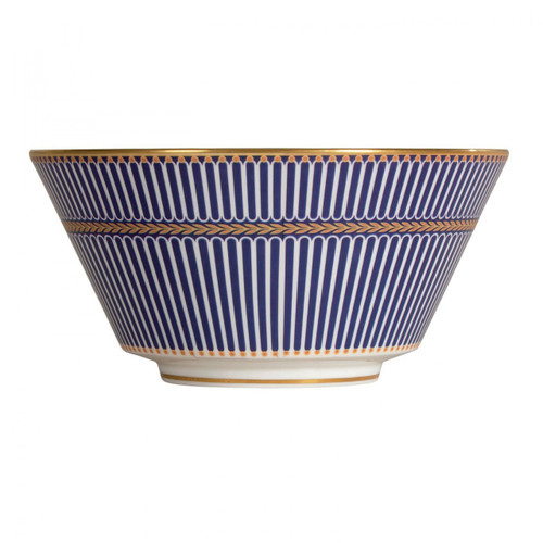 Wedgwood Anthemion Blue All Purpose Bowl 6 Inch