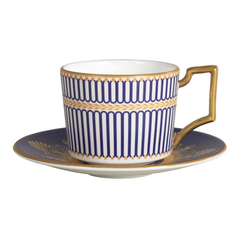 Wedgwood Anthemion Blue Espresso Cup