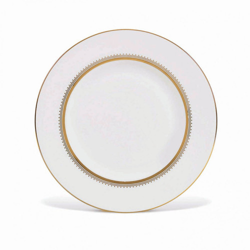 Vera Wang Golden Grosgrain Accent Salad Plate 9 Inch