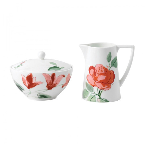 Wedgwood Jasper Conran Floral Cream and Sugar Set