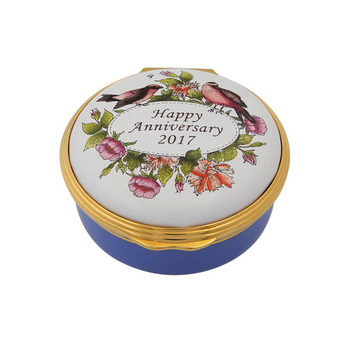 Halcyon Days 2017 Happy Anniversay Box