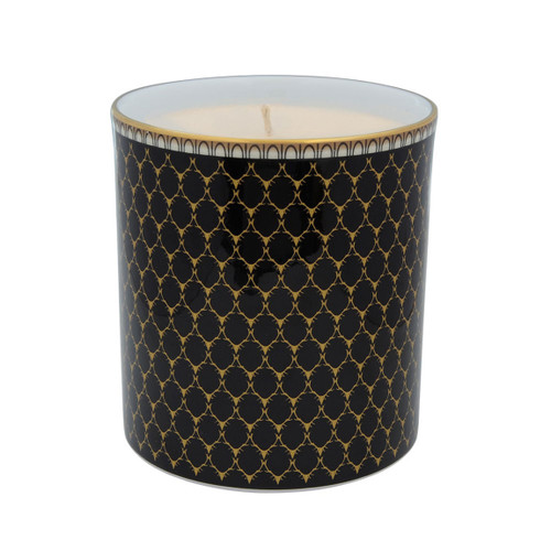 Halcyon Days Antler Trellis Filled Candle Black