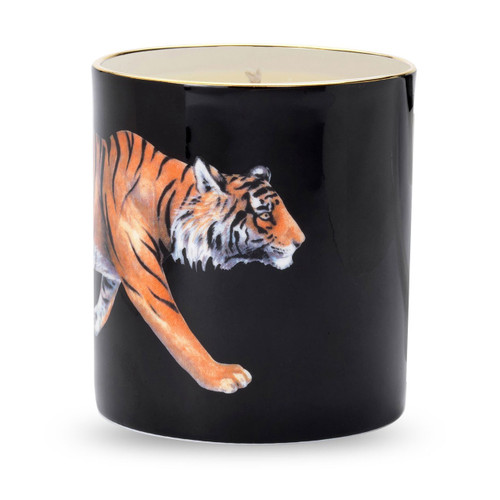 Halcyon Days Tiger Filled Candle