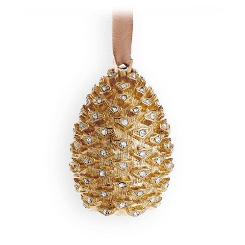 L'Objet Pinecone Ornament Gold MPN: OR100
