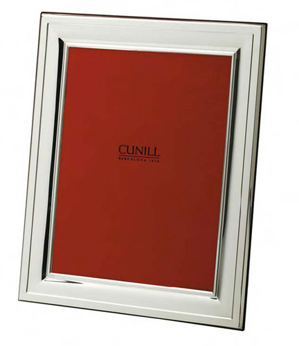 Cunill 208 4 x 6 Inch Picture Frame - Silverplated