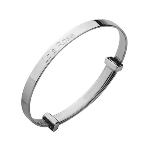 Cunill Baby Expanding Bangle Bracelet - Sterling Silver
