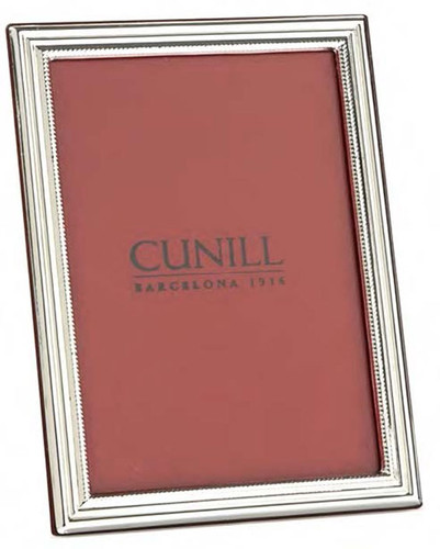 Cunill Classic 5 x 7 Inch Picture Frame - Sterling Silver