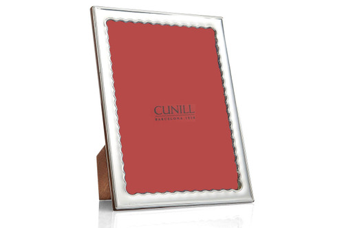 Cunill Drifts 4 x 6 Inch Picture Frame                                        - Sterling Silver