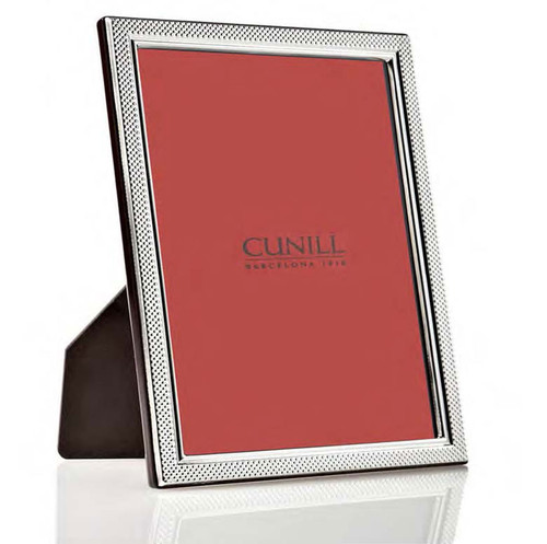 Cunill Droplets 7 x 9.5 Inch Picture Frame - Sterling Silver