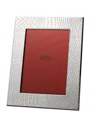 Cunill Dundee 4 x 6 Inch Picture Frame - Silverplated