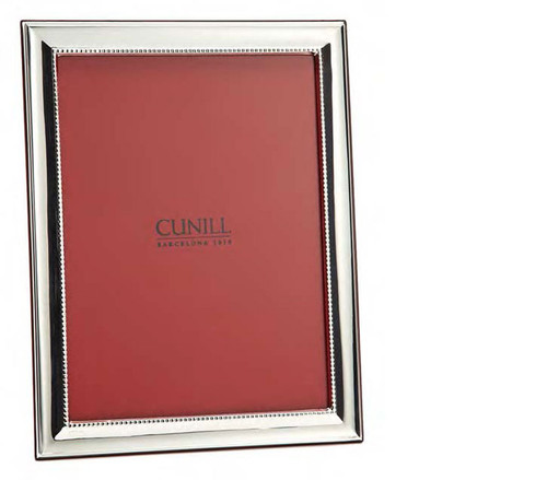 Cunill Groove 4 x 6 Inch Picture Frame - Sterling Silver