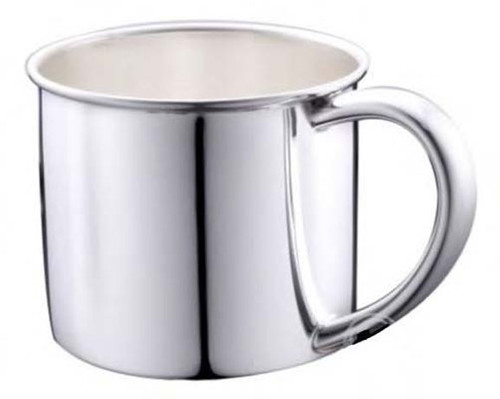 Cunill Plain Baby Cup - Silverplated