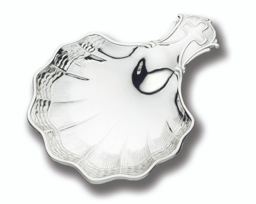 Cunill Waves Baptismal Shell - Sterling Silver
